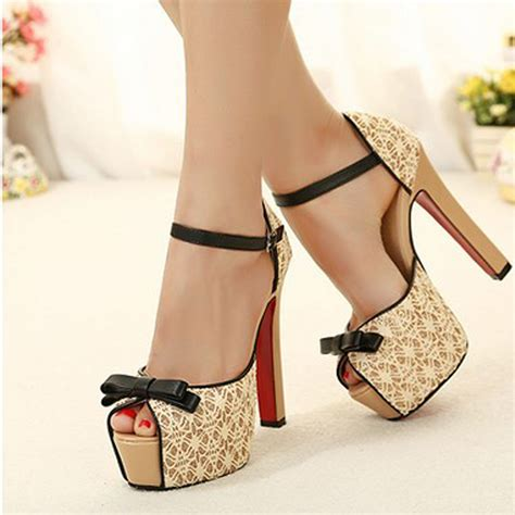 Heeghheels Shoes Gobe open toe sandals shoes pumps platform high heel