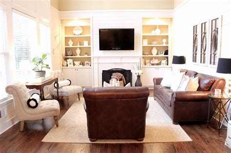 Brown Living Room Chairs Leather Couches Like Hubby And Accent Chairs Like I Maybe Him And I Can Agree For
