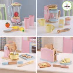 walmart kitchen supplies kidkraft pastel kitchen accessories 4 pack play set
