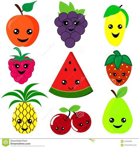 happy fruit cartoon im mango vector illustration