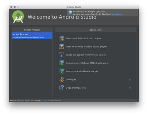 how to update android studio android studio 2 0 is now available for developers with instant run faster emulations and more