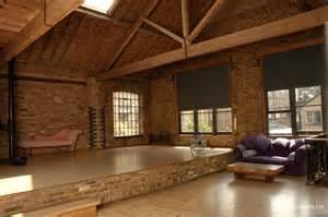 Pole Barn Floor Plans Open Plan Loft Apartment Photographic Studio London East