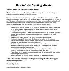 meeting minutes template 16 free documents in
