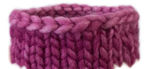 bind in knitting bind trick in the how to completely hide the