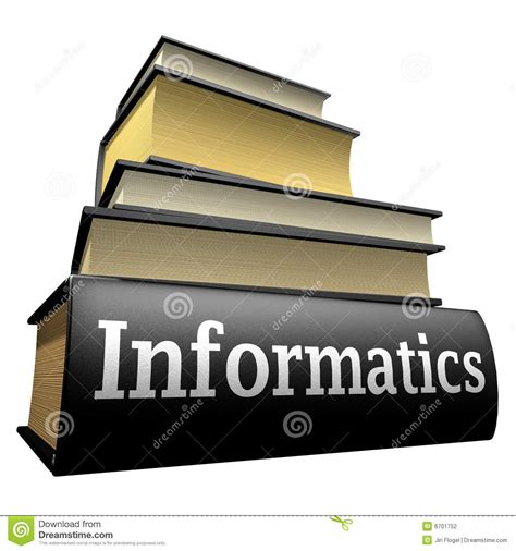 education books education books informatics stock photography image