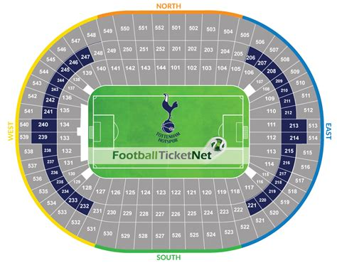 tottenham wembley seating plan away fans tottenham hotspur vs manchester city 14 04 2018 football