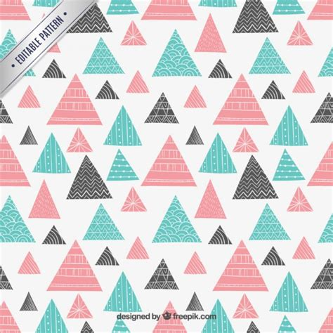 abstract pattern triangle abstract triangles pattern vector premium download