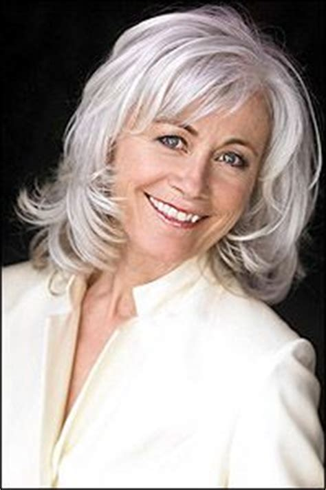 current medium length hair trends for over 65 women 200 best images about gray over 50 hair on pinterest