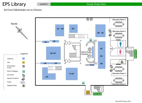 University Library Floor Plan by Floor Plans Eps Library University Of Canterbury