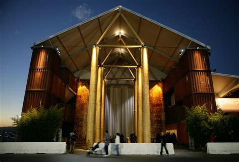 ad classics nomadic museum shigeru ban architects