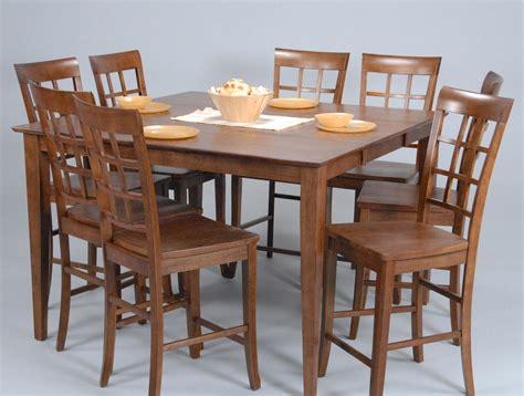 contemporary counter height table contemporary counter height table and chair set by ligo