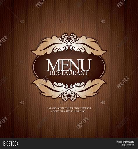 menu design hd restaurant menu design with seamless background stock