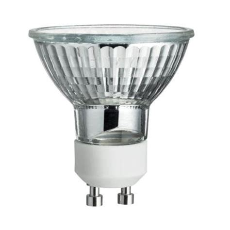 Lu Sorot Halogen 50 Watt philips 50 watt halogen mr16 gu10 flood light bulb 203315 the home depot