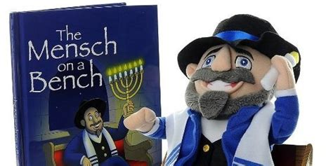 mensch on bench mensch on a bench is hanukkah s answer to elf on the shelf
