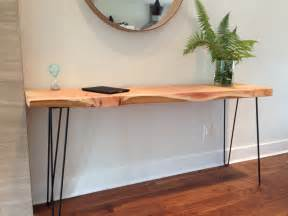 Hairpin Legs Desk Console Table Wood Desk Plant Stand Sofa Table Entryway