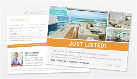 Realtor Postcard Template 18 Free Psd Vector Eps Ai Format Download Free Premium Templates Real Estate Postcard Templates