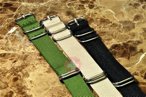 Nato Zulu 20mm nato zulu 3 pack 20mm green black