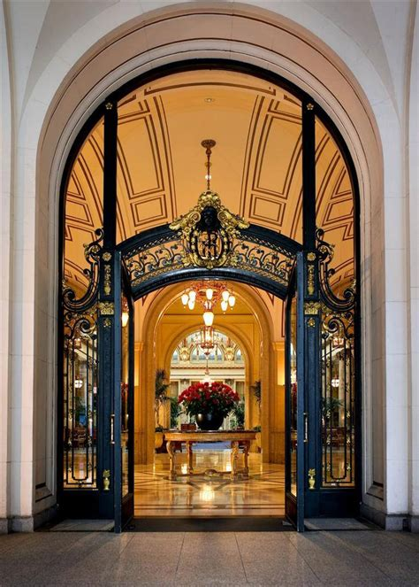 Luxury Front Doors Palace Hotel San Francisco Palace Hotel Front Door Flickr