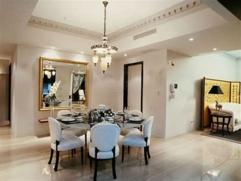comedores decorados  mesa redonda  el hogar
