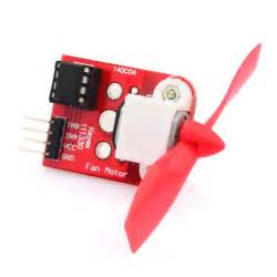 arduino and l9110 fan module example arduino learning