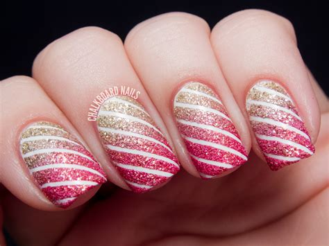 easy nail art stripes 30 unique striped nail art designs 2015