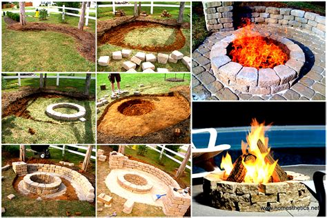 Backyard Landscaping With Fire Pit - creatively luxurious diy fire pit project here to enhance your backyard in 15 steps
