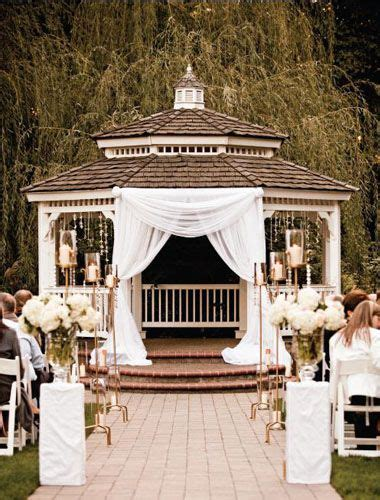 Backyard Wedding Gazebo Best 20 Gazebo Wedding Decorations Ideas On