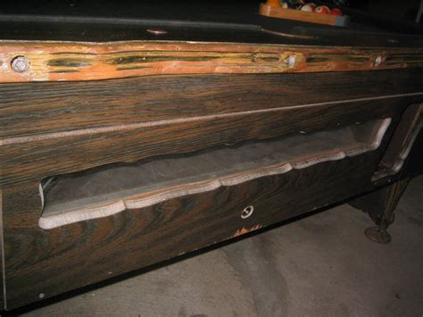 irving kaye coinop pool table