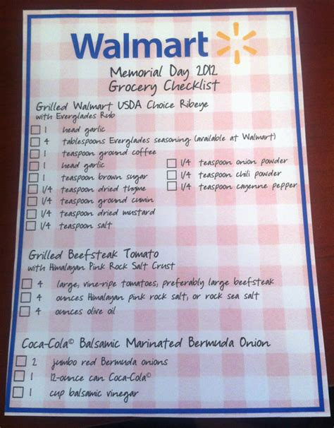 Gift Card List At Walmart - great summer recipes courtesy of walmart frugal novice