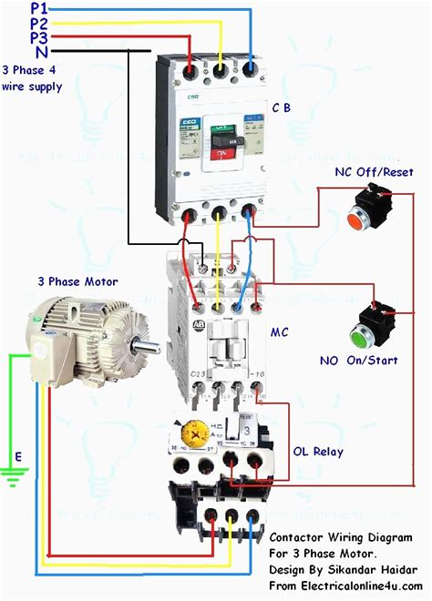 motor starter wiring diagram 36 wiring diagram