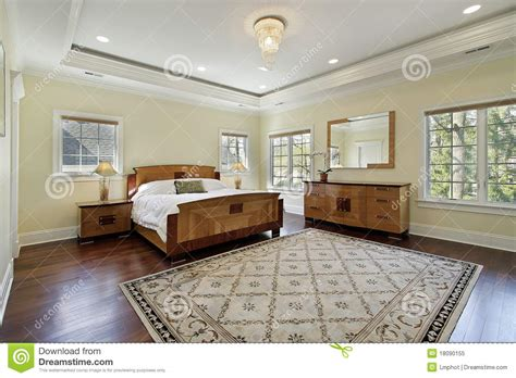 bedroom tray master bedroom with tray ceiling royalty free stock photo