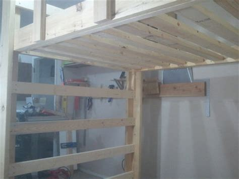 build  full size loft bed jays custom creations