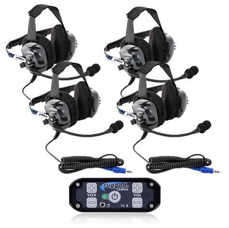 rugged radio headsets 4 seat 686 intercom kit w ultimate headsets offroad