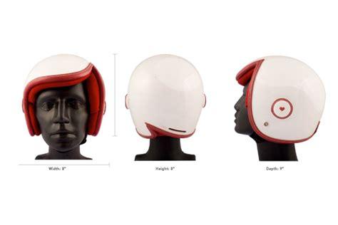 industrial design helm luxy vespa helmet features retro modern design for women