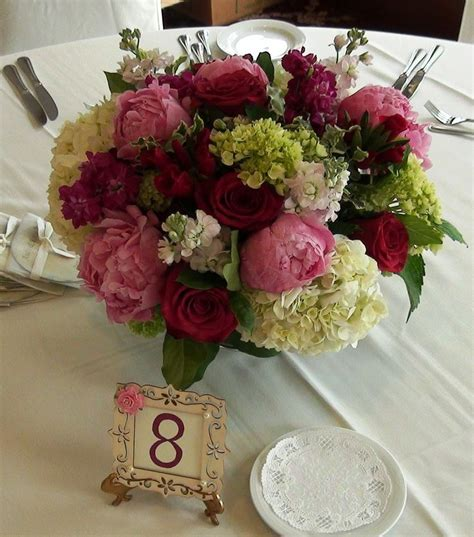 6 diy peony rose and hydrangea centerpieces for 50 17 best images about flowers on pinterest peonies