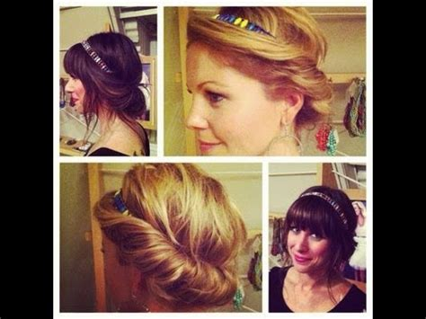 Hair Tutorial   Quick & Easy Vintage Hairstyle   Headband
