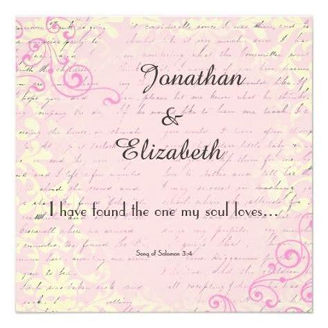 Bible Verses For Wedding Invitations