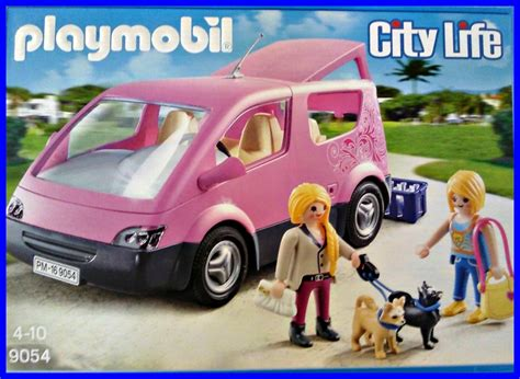 Auto Playmobil by Playmobil 9054 City Van Demo Aufbau Unboxing Youtube