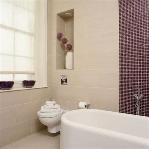 bathroom with mosaic tiles ideas 36 purple bathroom wall tiles ideas and pictures