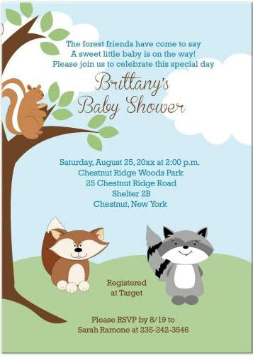 Animal Themed Baby Shower Invitations by Adorable Animals Baby Shower Invitations