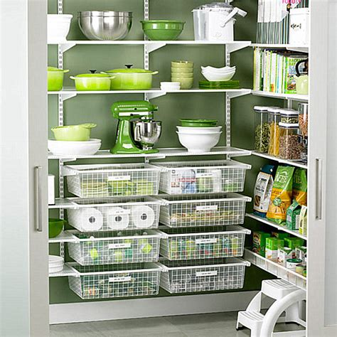 Organizing A Pantry With Wire Shelves by Pantry Design Ideas For Staying Organized In Style