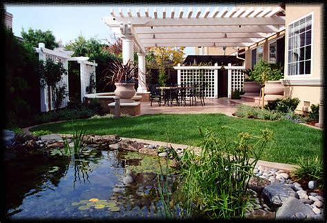 modern residential landscaping