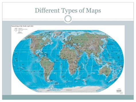 different types of maps ppt location location location understanding maps powerpoint presentation id 2797499