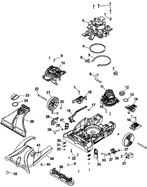 hoover steamvac parts diagram f7450 hoover steamvac max extrac floor cleaner parts