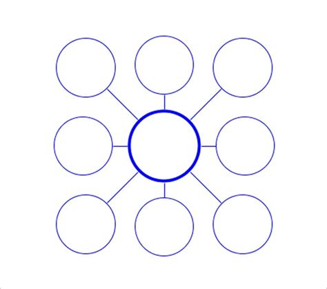 Circle Template For Word