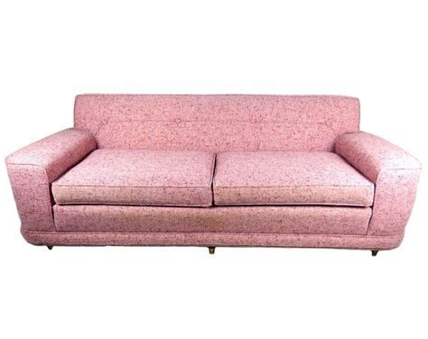 pink tufted sofa sale mid century modern pink couch sofa tufted by