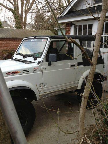 auto body repair training 1991 suzuki sidekick engine control find used 1991 suzuki samurai ja sport utility 2 door 1 3l in oaklyn new jersey united states