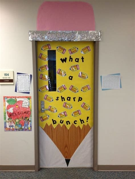 School Door Decorations by Classroom Decor Ideas New Door Decoration For 1st Day Of