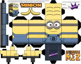 minion cutout template despicable me minion with two template by skgaleana