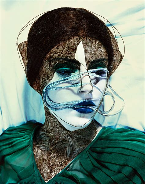 Jean Francois Lepage manipulated fashion editorial photographs by jean fran 231 ois